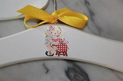 Girl doll hangers make unique Shower gifts to
