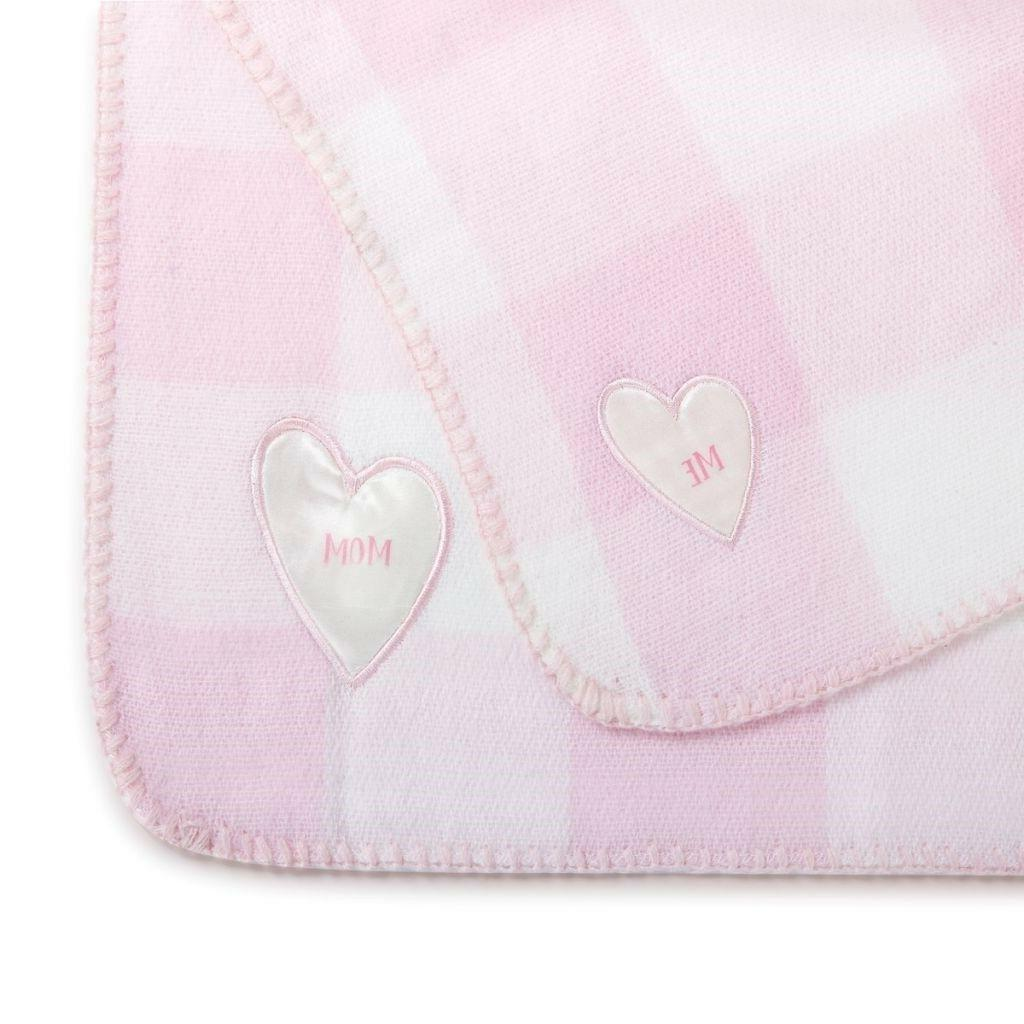 MOM Time Blankets Demdaco Gift Pink or Blue