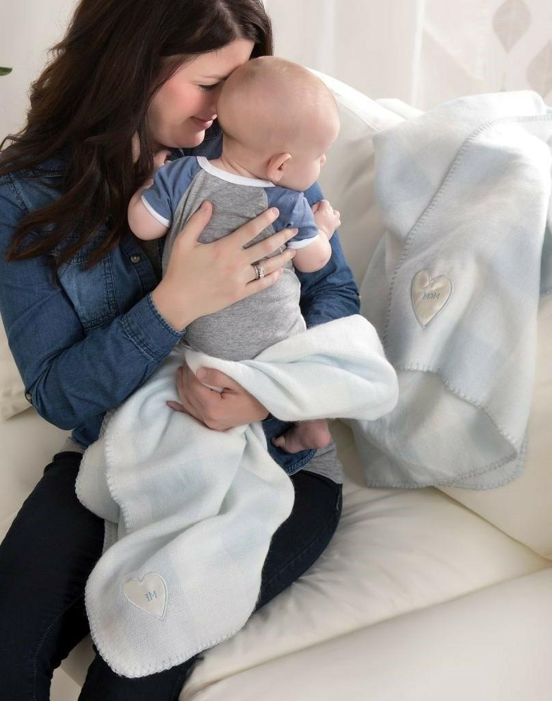 MOM & Time Super Soft Blankets Baby Pink