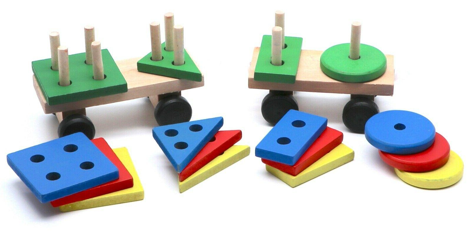 Montessori Educational Train for Babies Toddlers, Gifts