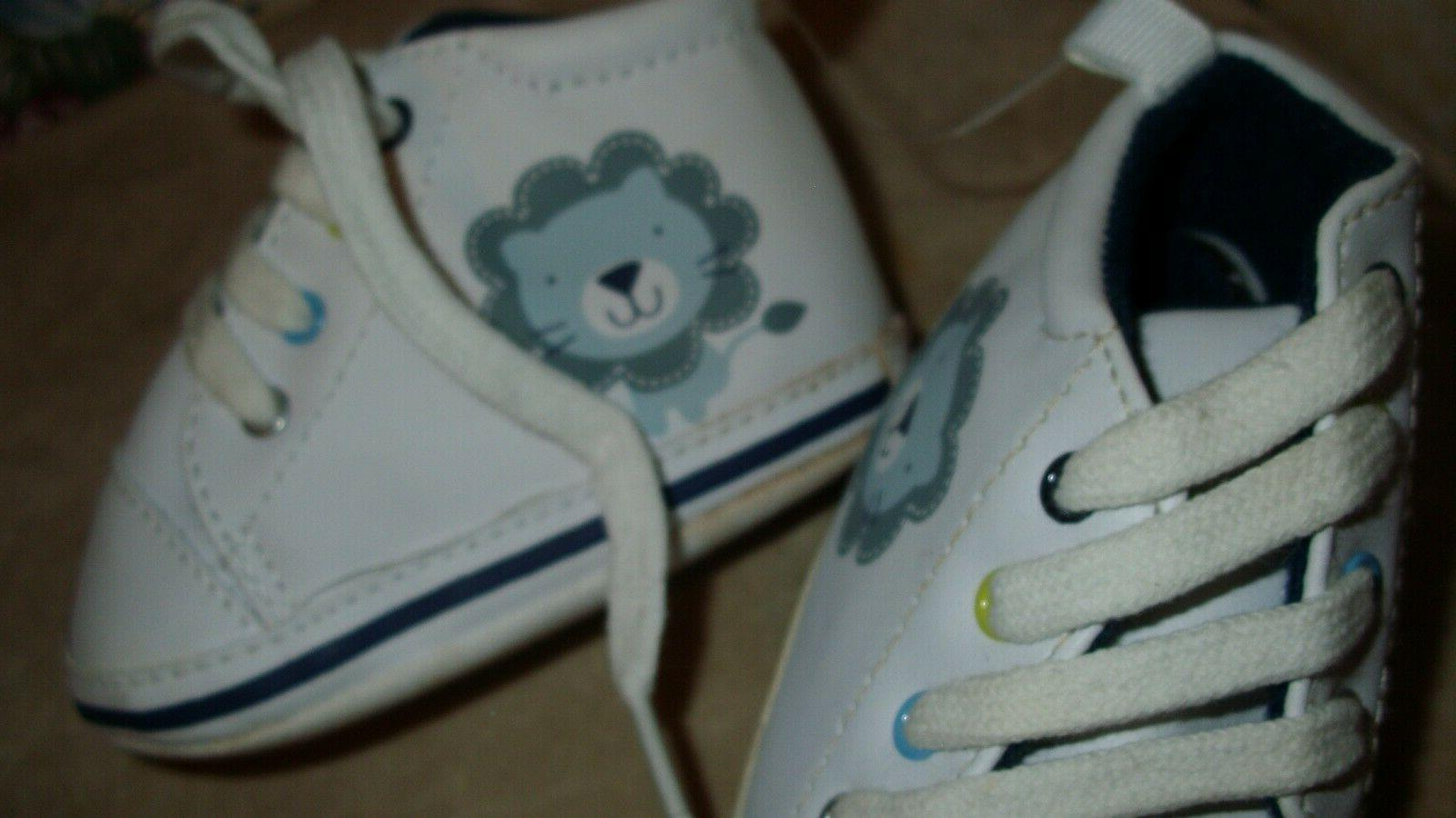 NEW Gerber Baby Boy LION Baby Clothes SHOE LACES