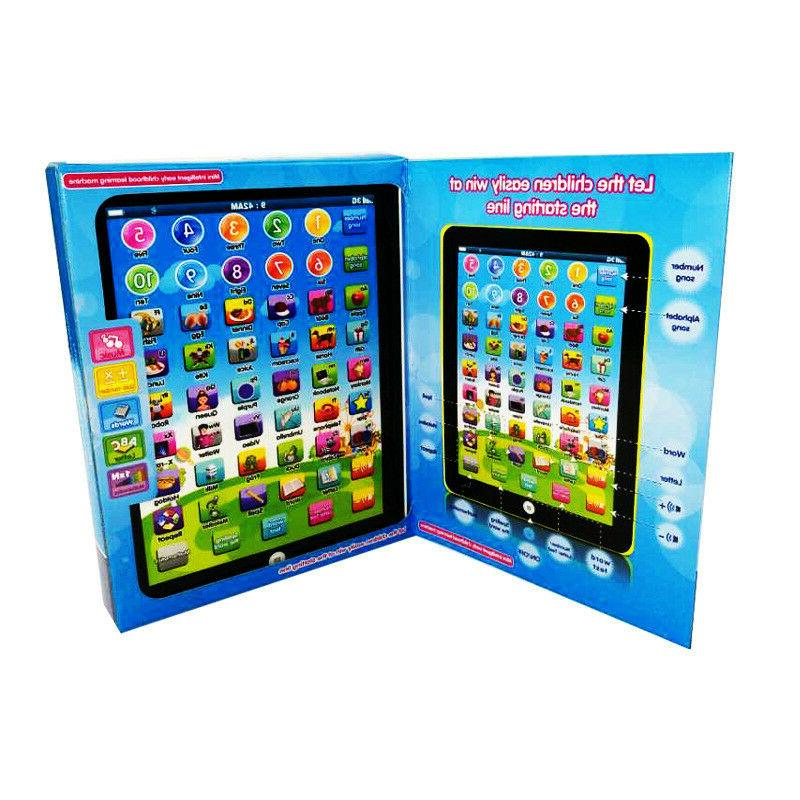 New Educational Learning Children TABLET PAD Gift Baby