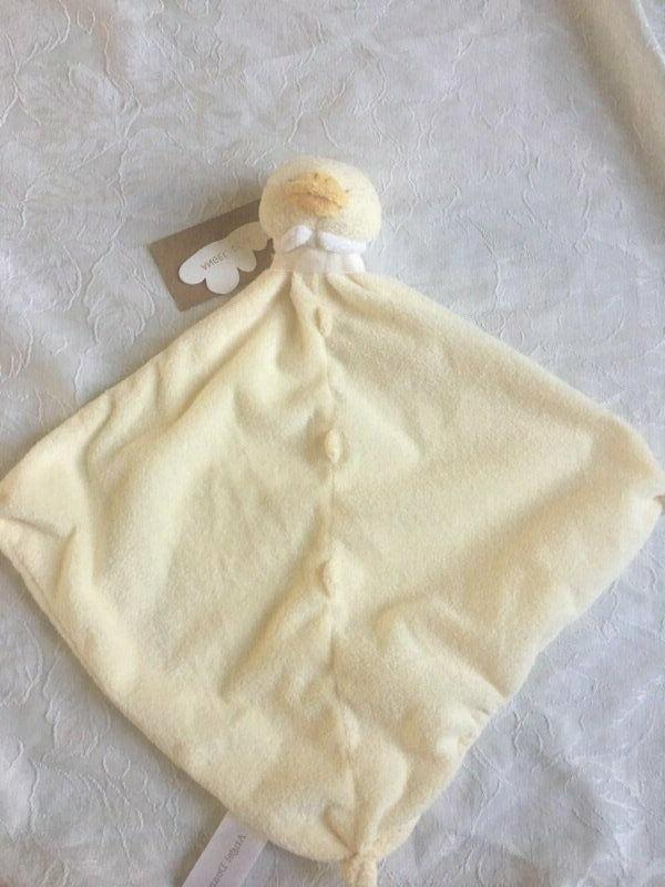 nwt plush duck chick yellow security blanket