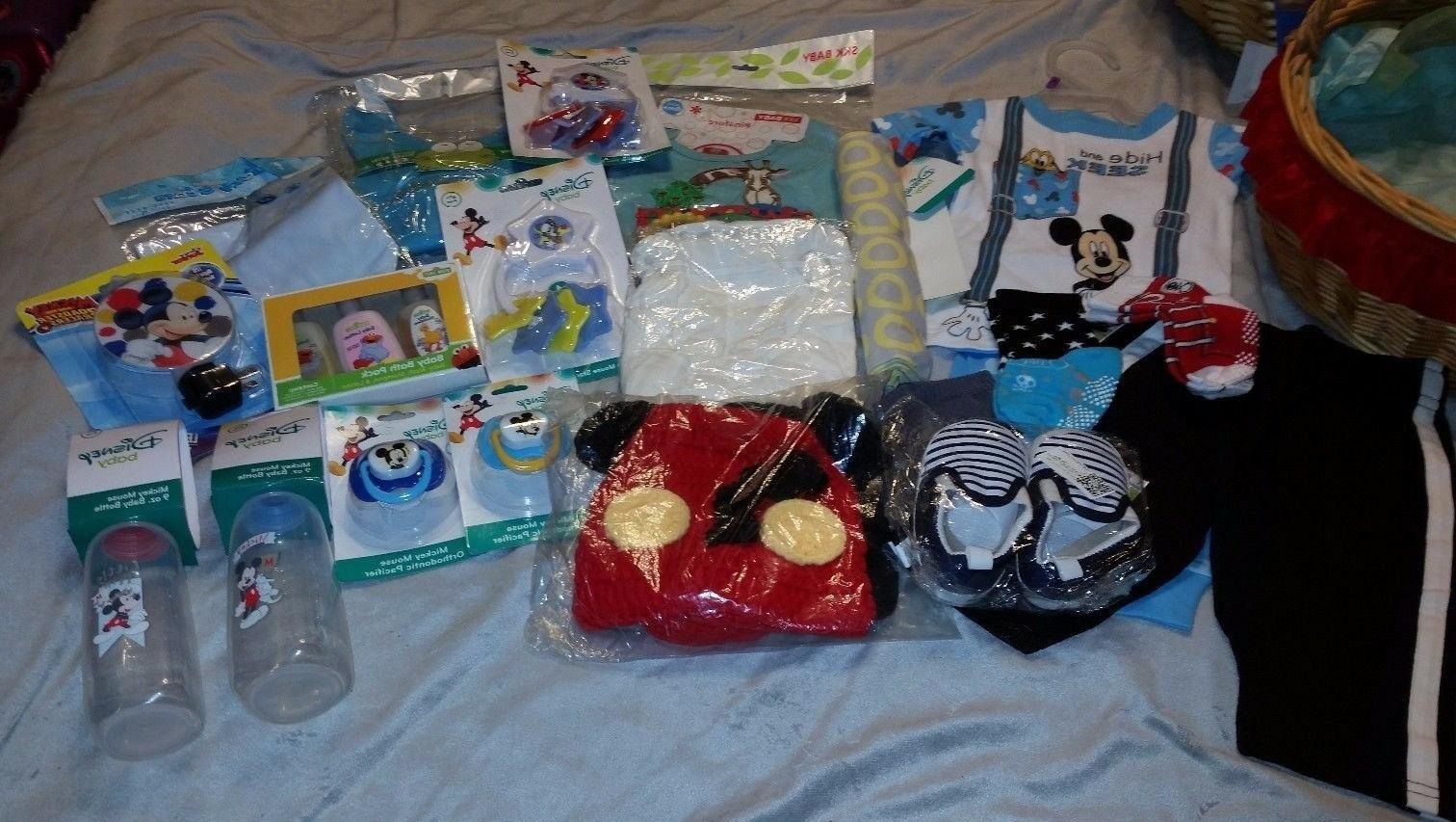 "PERFECT GIFT ! ""DISNEY"" MICKY MOUSE  Baby EXTRAS"