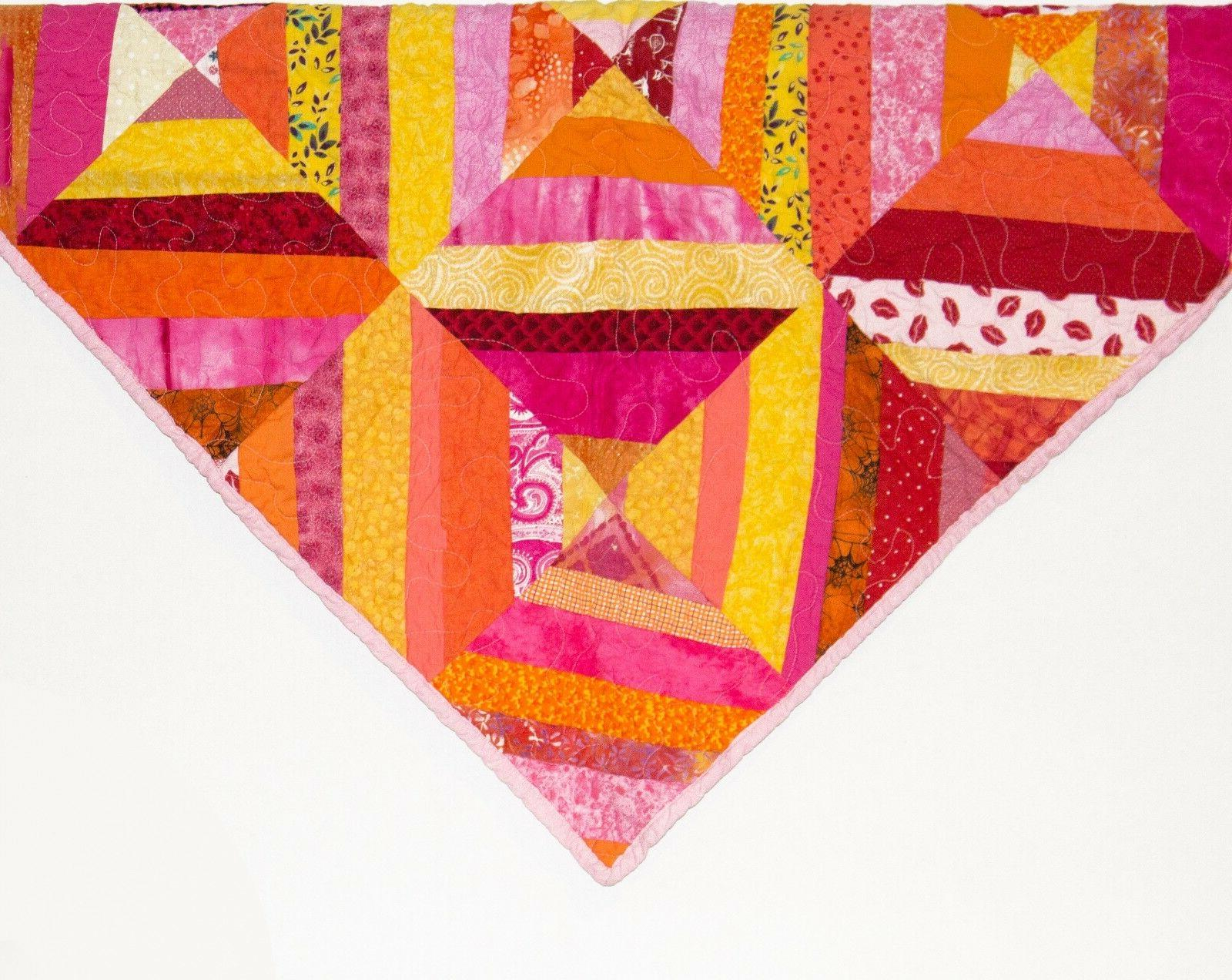 Pink Quilt for Girls Baby Girl Blankets Baby Shower -Woobie