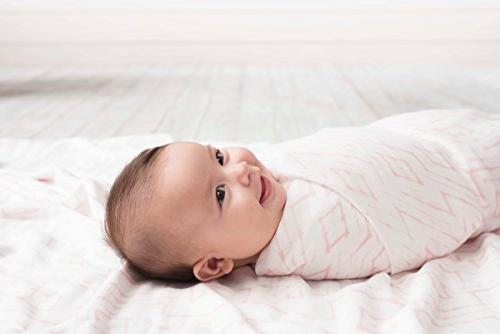 aden + soft swaddle 3 pack, berry