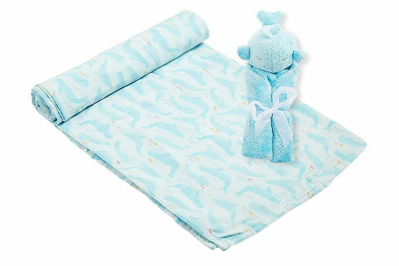 Angel Dear And Blankie Gift Whale