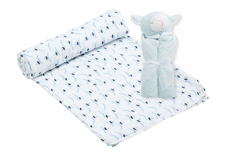 Angel Blankie Boats With Lamb