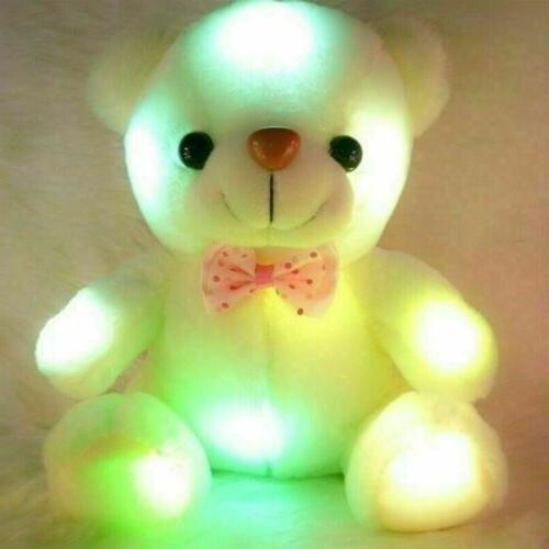 Toys For LED light Stuffed 1 2 3 6 7 8 9 Year Age Old Gifts