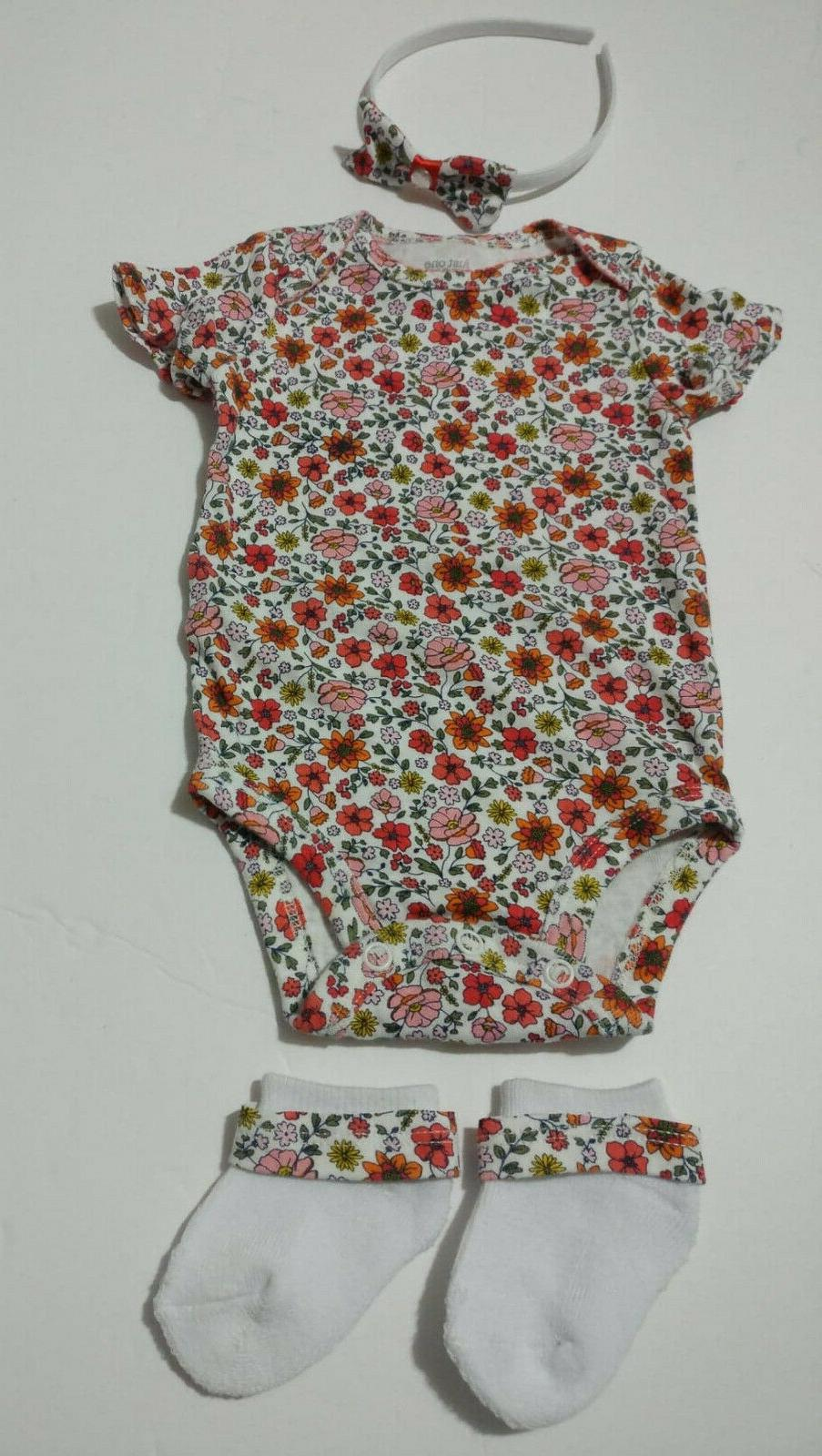 us baby girl clothing floral 3 pieces