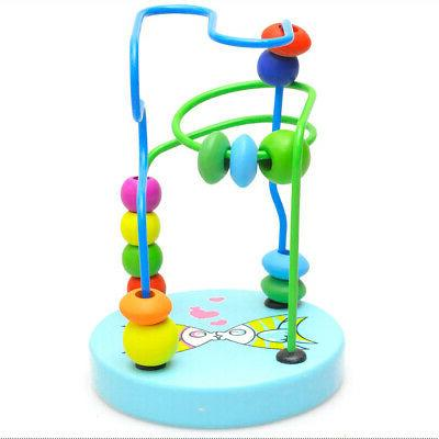Wooden Colorful Wire Maze Toy