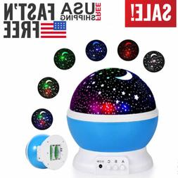 LED Night Star Light Toys For Boys 2-10 Years Old Kids Const