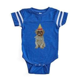 CafePress Lhasa Apso Gifts Baby Football Bodysuit