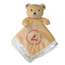 Baby Fanatic St. Louis Cardinals Security Bear Blanket, 14 x