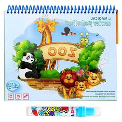 Magic Water Drawing Book Coloring Books Baby Children Toys C