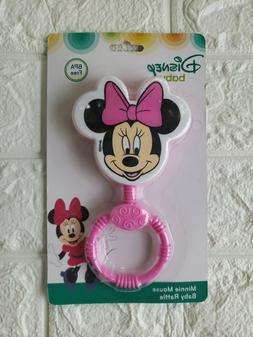 Disney Minnie Mouse Baby Rattle BPA Free Baby Shower Gift Mi