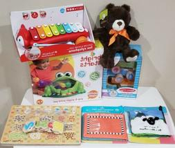 Mixed Lot Of Baby Toddler Toys Books Melissa And Doug Daycar