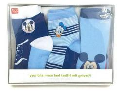 Disney Baby Boy's 3 Piece Socks Gift Set 6-12 mo or 12-24 mo