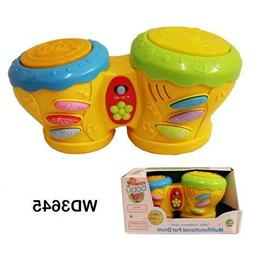 New Baby Multinationals Pat Drums Sets Baby Kids Early Learn