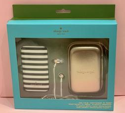 """NWT Kate Spade """"Keep it together"""" Tech gift set, charger, ea"""