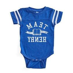 CafePress OUAT Team Henry Baby Football Bodysuit