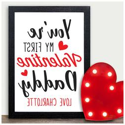 PERSONALISED Valentines Day Gifts for Mummy Daddy To Be from