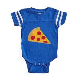 CafePress Pizza_Simple Baby Football Bodysuit