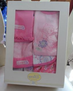 Disney Pooh Baby Girl 0-6 month Disney 7 piece gift set
