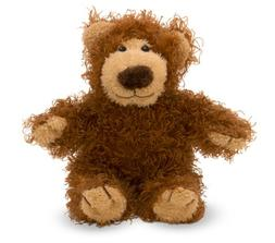 Melissa & Doug Baby Roscoe Teddy Bear Stuffed Animal - 9.25