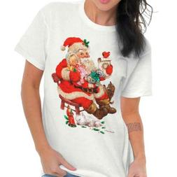 Santa Claus Baby Merry Christmas Happy Holidays Xmas Gift Cl