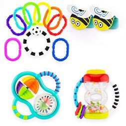 Sassy My First Rattles Gift Set 0+ Months Featuring 4 of Our