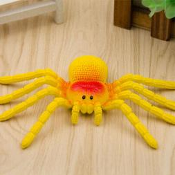 Simulation Spider Tricky Spoof Toys Realistic Soft Rubber An