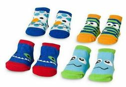 Baby Essentials Socks, Baby Boys Monster Socks