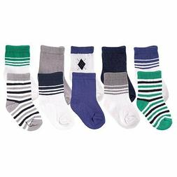 Luvable Friends 10 Pair Socks Gift Set - Boy