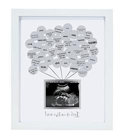 New Pearhead Sonogram Baby Shower Guestbook Frame Model:2492