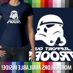 Support Our Troops Star Wars Stormtrooper Gift Juniors Girls