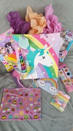 Unicorns & More! Gift Set-SHIPS GIFT WRAPPED girls ages, 3,