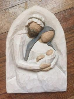 Willow Tree A Child Is Born Holy Family Wall Plaque Demdaco