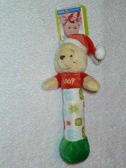 KIDS PREFERRED WINNIE THE POOH HOLIDAY XMAS GIFT SOFT STUFFE