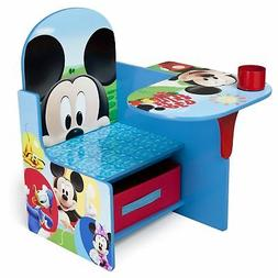 Kids Wooden Desk Chairs Play Set Children Furniture for Lear