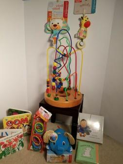 Wow ! Great Baby / Infant Bundle Toys And Books Shower Gift
